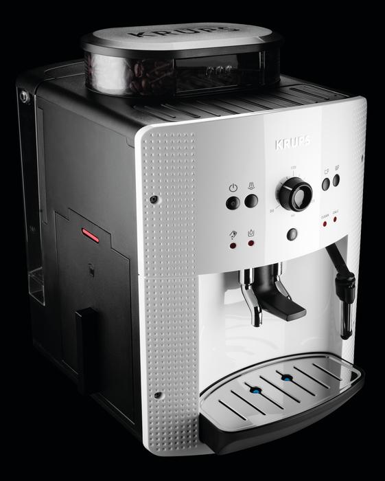 Krups EA8105 fehér automata kávéfőző